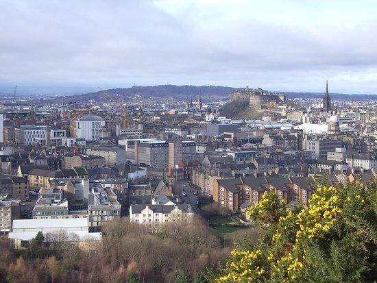Edinburgh vanaf Arthurs Seat