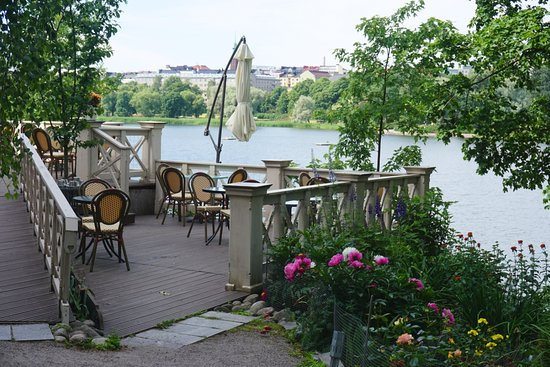 Cafe Taideterassi: The nice terrace