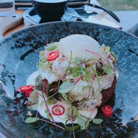 Como, Australien: chicken dish (i forgot the name)