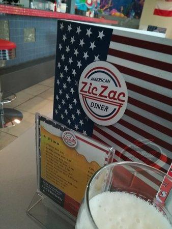 Zic Zac Diner: Une bonne bière
