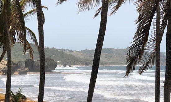 Bathsheba, Barbados: great view