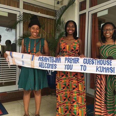 Asantewaa Premier Guest House: Savannah state students, fufu lessons