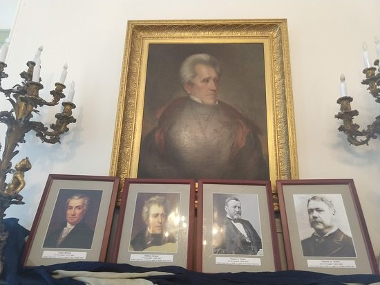 Linden Place Mansion: The four presidents who have visited this home