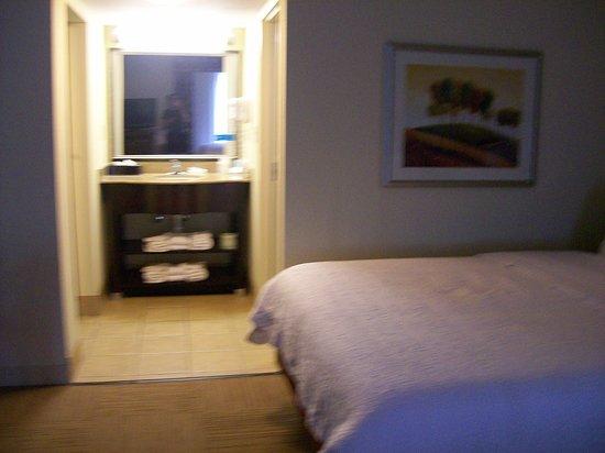 Hampton Inn & Suites Savannah - I-95 S - Gateway: Room 622 Bathroom Sink Vanity