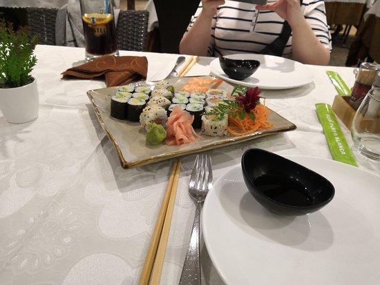 Restaurante Asia: Unsere Sushiplatte