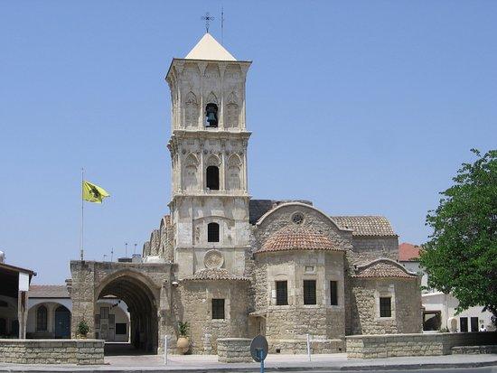 Mazotos, Chipre: Собор Святого Лазаря, построенный в конце IX-начале Χ века