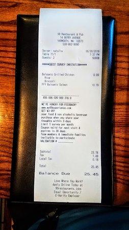 99 Restaurants: Reasonable Prices