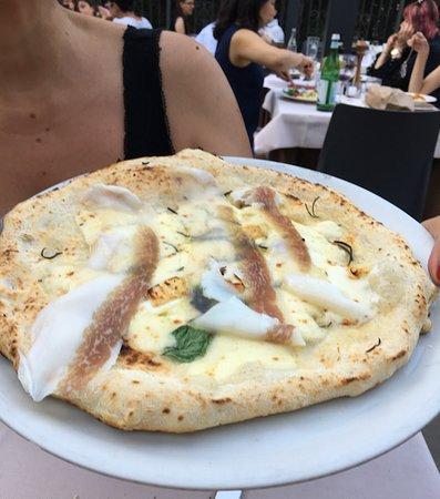 DaMimmo: Pizza con lardo