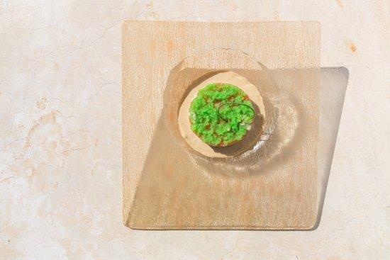 """SevenSenses Gastronomy: Organic Salmon tartar """"da rossa"""" / wasabi sauce"""