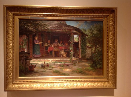 "New Britain Museum of American Art: ""Country Breakfast"", Edward Lamson Henry"