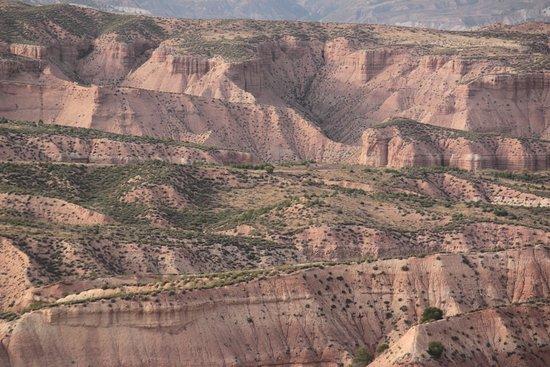 Gorafe, Испания: Vista parcial de Los coloraos