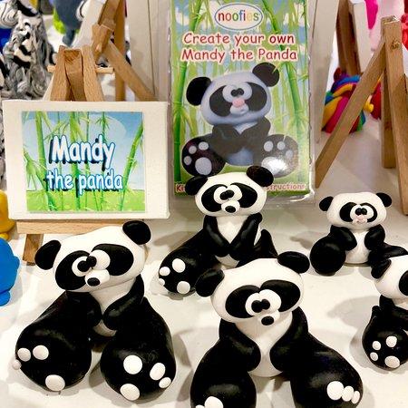 Noofies: Mandy the panda.