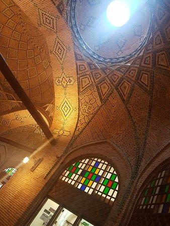 Caravanserai of Sa'd al-Saltaneh: inside of the Caravanserai.