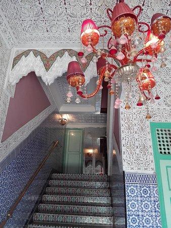 Palais Chahramane: Entrata