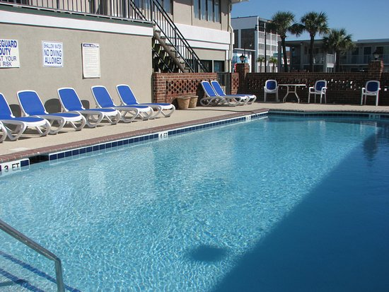 Windsurfer Hotel: Pool has been renovated