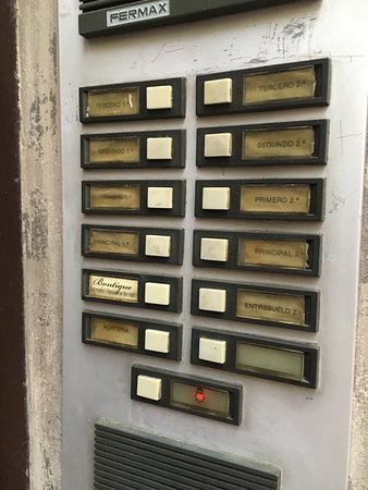 Boutique Bed and Breakfast: Which button to press