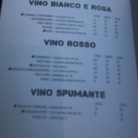 Bilde fra Tomasso's Italian Grille