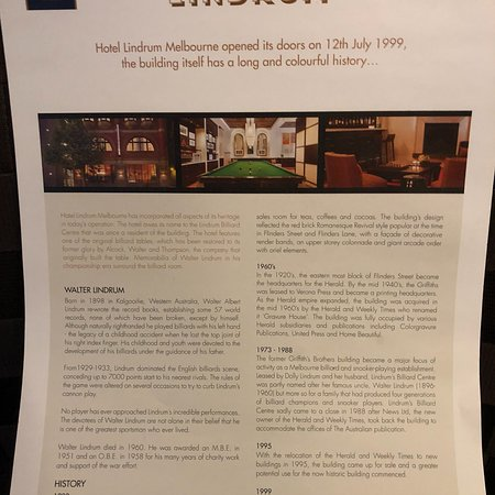 Hotel Lindrum Melbourne - MGallery by Sofitel: Hotel Lindrum Melbourne - MGallery Collection