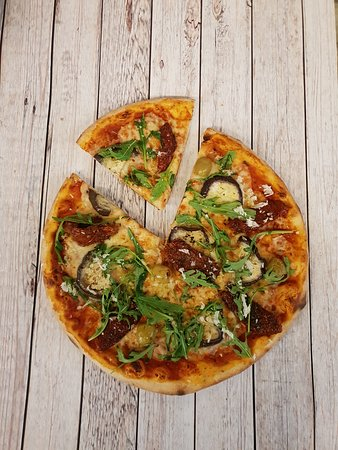 Crosne, Prancis: Pizza roquette