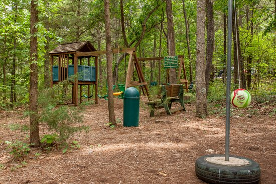The Village At Indian Point Resort: Playground and Tether Ball