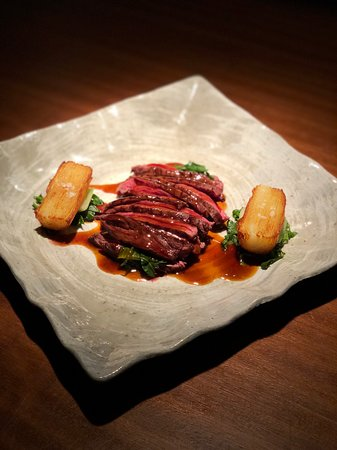 Skirt Steak (140 Dhs) - Picture of 99 Sushi Bar & Restaurant, Abu