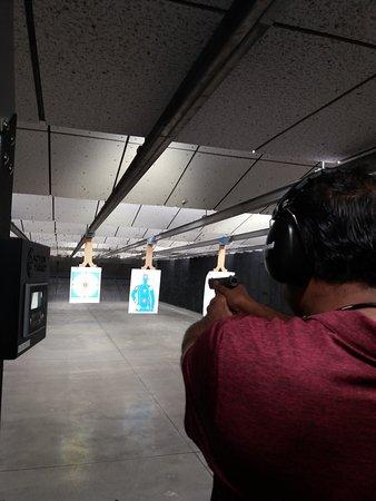 Tarpon Springs, FL: At the range