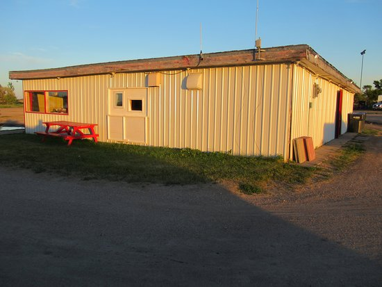 Morden, Kanada: Concession stand and digital projector/audio system