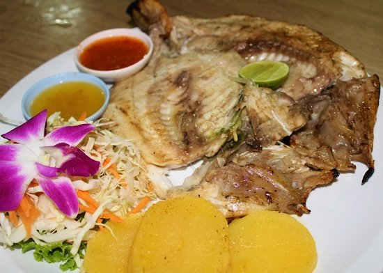 Andaman Aussie Steak and Seafood: BBQ Fish