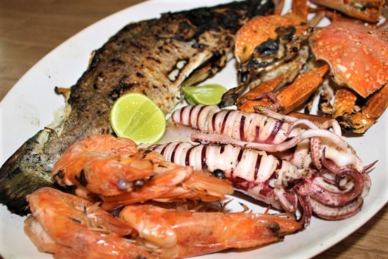 Andaman Aussie Steak and Seafood: Seafood Set BBQ platter