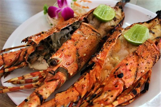Andaman Aussie Steak and Seafood: Lobster BBQ
