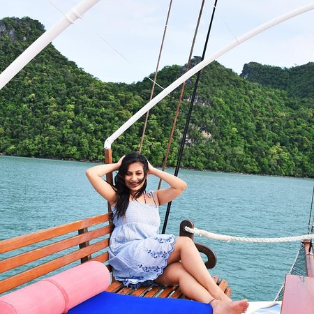 Damai Indah A Day in Paradise: We loved the sailing in every which way. We love you Eva you made our honeymoon soo special.