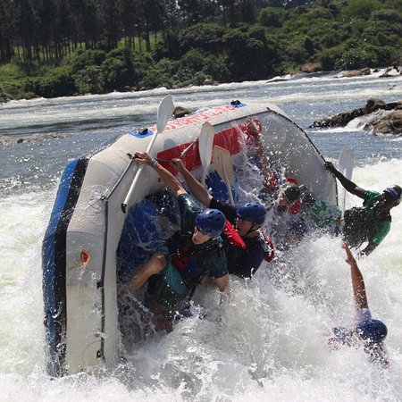 Bilde fra Raft Uganda