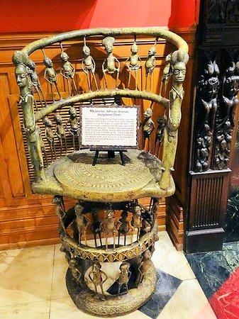 Ripley's Believe It Or Not: bronze judgement chair