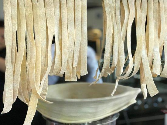 Van Der Linde Restaurant: Fresh pasta made daily...