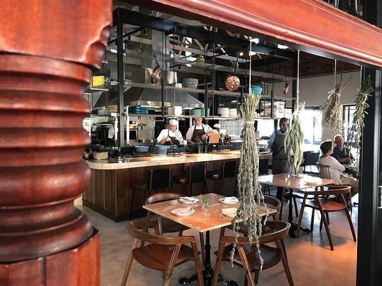 Breakfast at Van der Linde Restaurant... - Picture of Van Der Linde ...