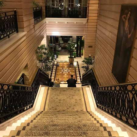 Elegant lobby; InterContinental Hotel Buenos Aires