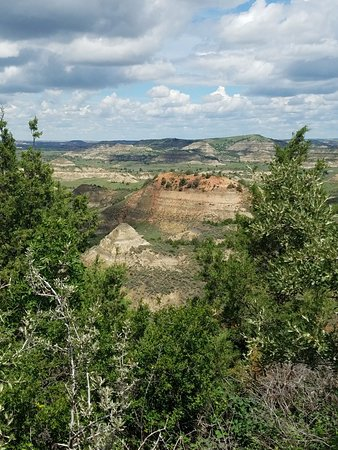 Bilde fra Painted Canyon Overlook