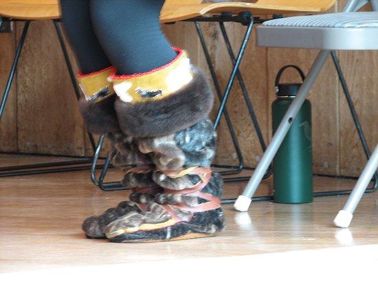 Alaska Native Heritage Center: Mukluks