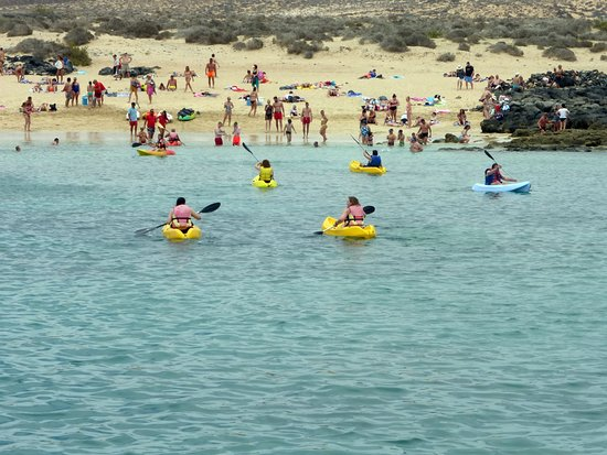 Day Sail to La Graciosa: Canoes available!