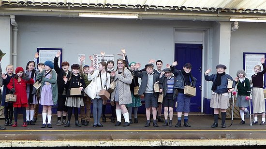 Dawlish Museum: One of the 'evacuee' school visits the Museum is delighted to host.