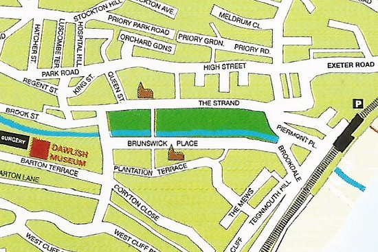 Dawlish Museum: We're easy to find at the rear of the main car park on Barton Hill.