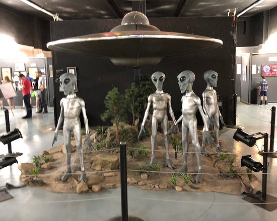 International UFO Museum and Research Center: UFO Museum Display