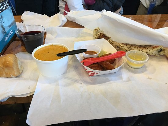 Tracy's King Crab Shack: Our meal