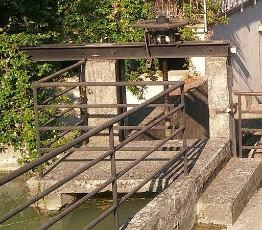 Antico Mulino: Particolare della struttura