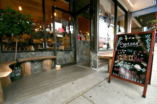 Chickpea Restaurant: Welcome to Chickpea