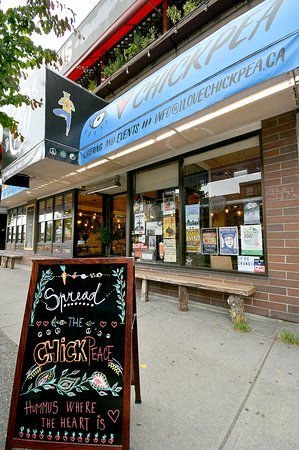 Chickpea Restaurant: Spread some Chickpeace