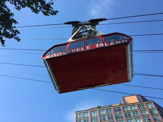 The Roosevelt Island Tramway: Tram