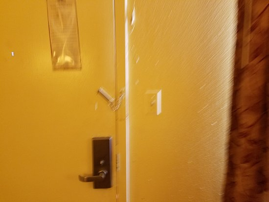 Chickasha, Οκλαχόμα: Room Door