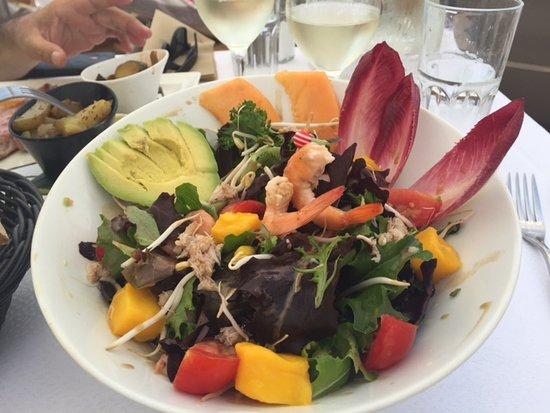 Epi Beach: Salade exotique