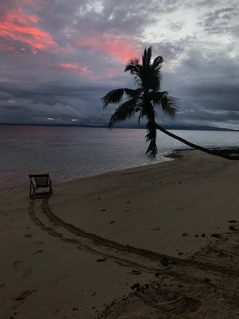 Leleuvia Island, فيجي: Our favorite sunset spot
